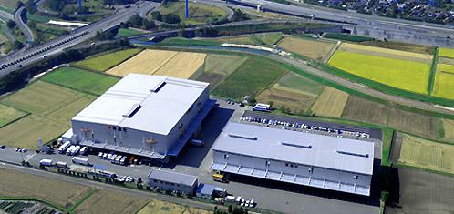 小郡営業所倉庫